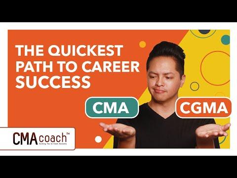 CMA vs CGMA