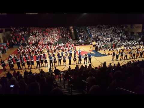 Neshaminy High School Gym Night 2017 Red Juniors