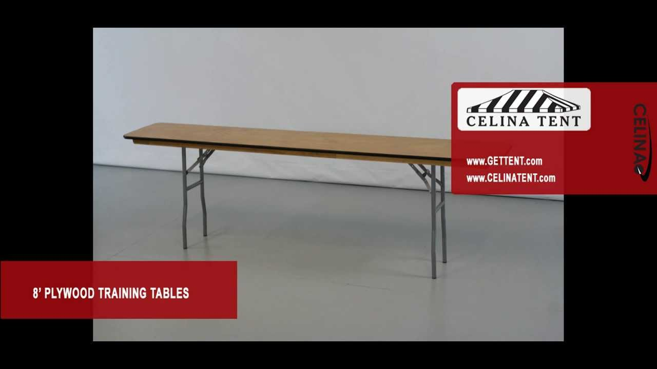 Plywood Training Conference Table X YouTube - 18 x 96 training table