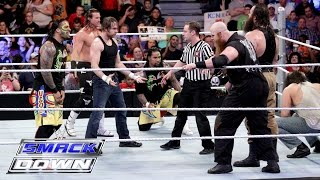 Download Dean Ambrose, The Usos & Dolph Ziggler vs. The Wyatt Family: SmackDown, March 10, 216 Mp3 and Videos