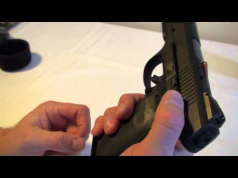 Safety checking & disarming three common types of semi-auto
