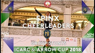 Grup Stunts: Spinx Cheerleaders I@ ICA Regional Championship & Arrow Cup 2018 [@Neoskylight_media]