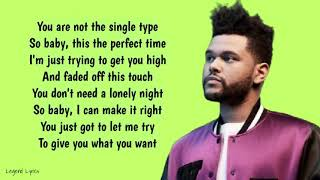 Download song The Weeknd - I Feel It Coming ~ Lyrics ~ ft. Daft Punk