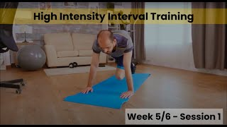 HIIT - Week 5/6 Session 1 (Control)