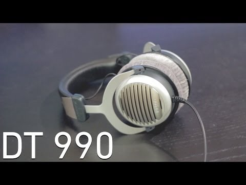 Beyerdynamic DT 990 600 Ohm Unboxing