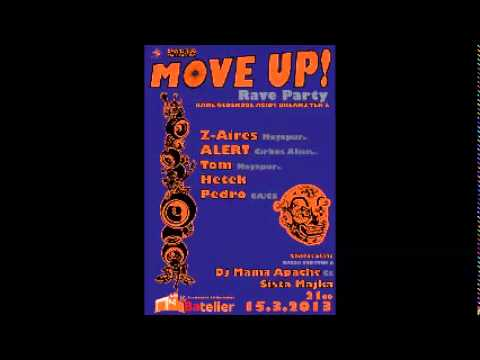 Cirkus Alien & Mayapur - Al3rt vs. Z-Aires - Move Up Rave Party (Bratislava 2013)