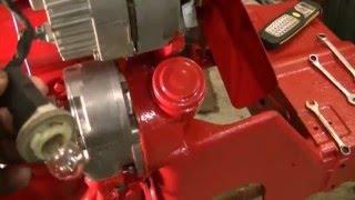 6 Volt to 12 Volt Conversion on 4 cyl IHC Tractor w/engine start - zeketheantiquefreak
