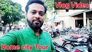 [ vlog video ] my home purnea city tour | bike wash