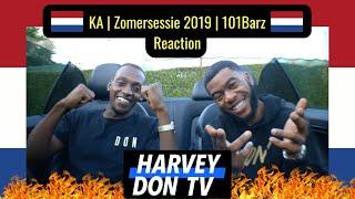 KA   Zomersessie 2019 Reaction   101Barz #HarveyDonTV @Raymanbeats