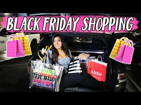 BLACK FRIDAY SHOPPING VLOG 2019!!