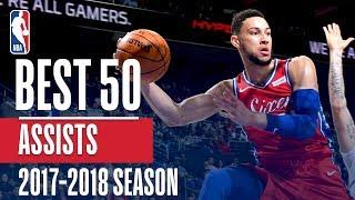 Best 50 Assists of the 2018 NBA Regular Season