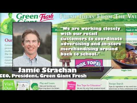Green Giant® Fresh goes back to school with Box Tops for Education