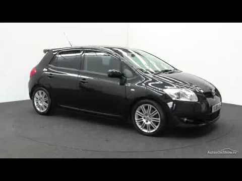 2008 toyota auris sr d 4d youtube. Black Bedroom Furniture Sets. Home Design Ideas