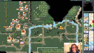 Command & Conquer (C&C95) Multiplayer with Irwe #01 - 4 player FFA