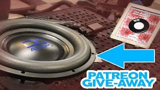 "12"" DC Audio Level 3 Patreon Giveaway - Live stream!"