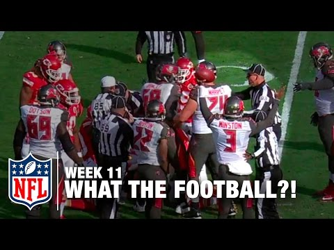 Top 5 Worst Moments (Week 11) | WTF: What The Football?! | NFL Now