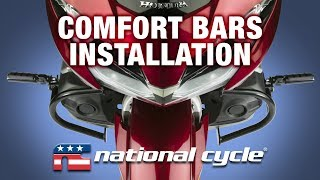 National Cycle's GL1800 Comfort Bars Installation