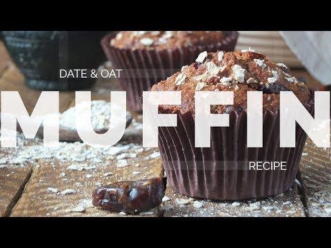 Date & Oat Muffins