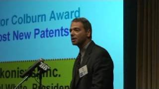 Ikonisys, Most New Patents Award, Paul White Accepting