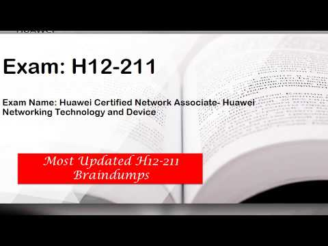 Huawei HCNA Braindumps