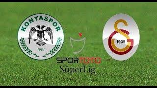 Atiker Konyaspor 2-2 Galatasaray - HD Maç Özeti -ZTK- 01.02.2018