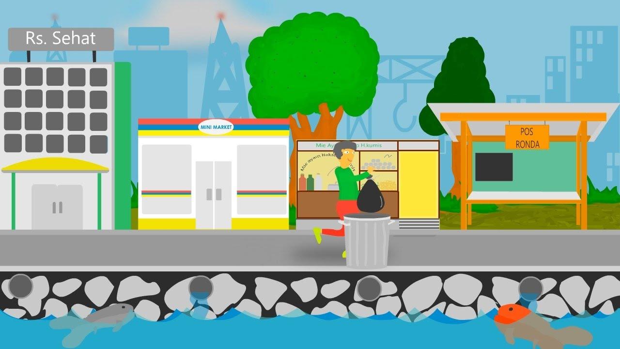 Animasi Iklan Layanan Masyarakat Penting Nya Menjaga Kebersihan