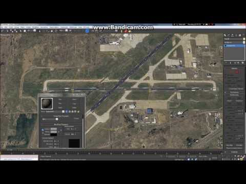 FSX Scenery Tutorial / Taxiway Creation - Background Image