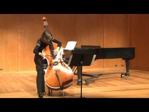 """Miloslav Gajdoš, """"Zingaresca"""", Justyna Grudzinska - double bass"""