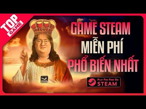 Top 10 Tựa Game PC Miễn Phí Đang Thống Trị Trên Steam 2021 | FREE Games On Steam