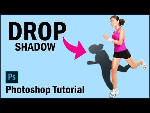 How to Create Realistic Drop Shadow in Photoshop ~~ Photoshop Tutorial thumbnail