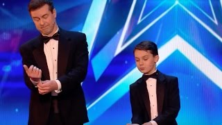 John & Brandon Leaves Everyone Seeing Double | Audition 2 | Britain's Got Talent 2017