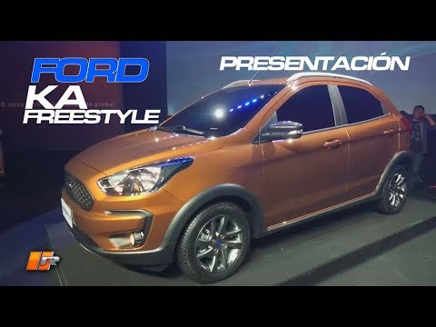 Ford Ka Freestyle  Presentacion Routiere Pgm