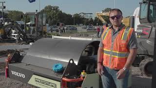 Video still for Unveil of the autonomous, self-levelling asphalt compactor Concept Lab innovation CX01