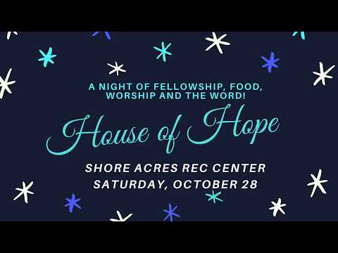 House of Hope St. Pete - October 28, 2017