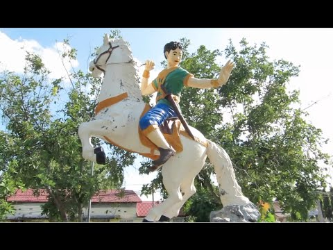 Kampong Chhnang City - Puthisen Kong Rey Statue - Independence Monument