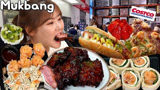 Couple Mukbang│🤗 Eating various foods of COSTCO in Korea.