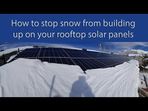First winter lesson learned; how close to edge of roof should solar panels be to avoid snow buildup?