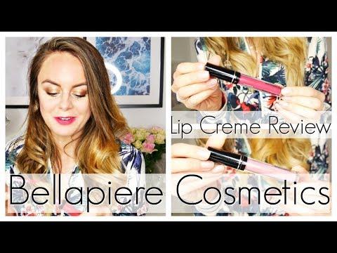 Bellapiere Cosmetics Lip Creme Review // Mineral Makeup Review