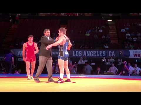70 KG Nick Marable USA vs Davit Apoyan Armenia