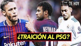 Neymar responde y repite la historia de la traición. Real Madrid