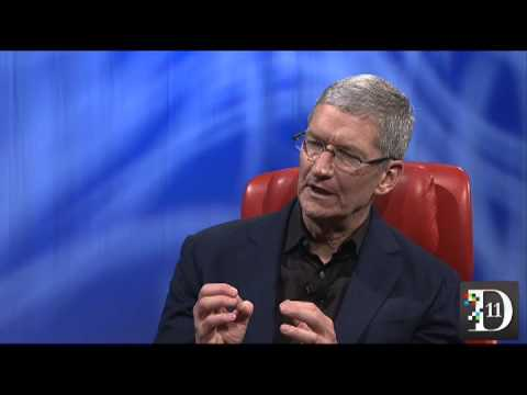 Tim Cook on Google Glass - D11 Conference