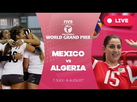 Mexico v Algeria -  Group 3: 2017 FIVB Volleyball World Gran