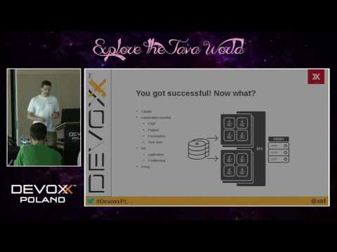 Devoxx Poland 2016 - Michał Krzywucki, Dominik Radziszowski - Easily scale up your JEE stack with...