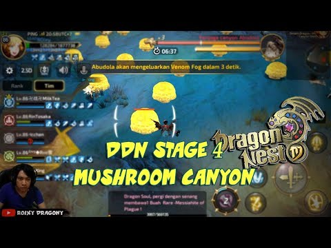 Susah amat ini Stage -,- !!! DDN Stage 4 Mushroom Canyon - D
