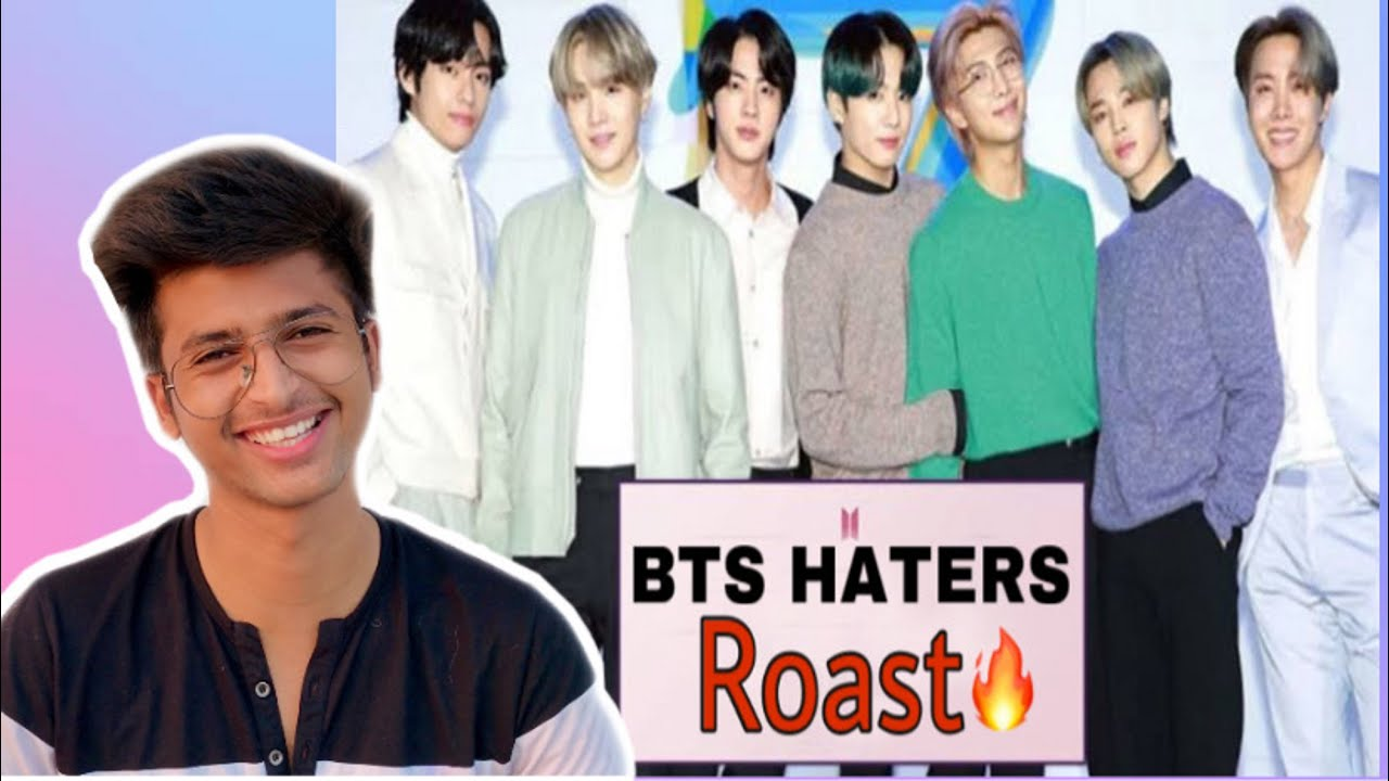 BTS Haters ROAST !! Sasta carryminati roast   Rajat Pawar