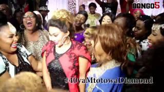 40 ya Mtoto wa Diamond: Zari akionyesha uwezo wake wa kukata viuno