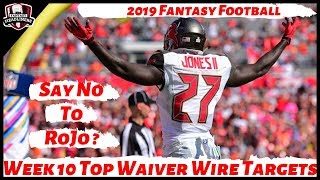 2019 Fantasy Football Rankings - Week 10 Top Waiver Wire Players To Target