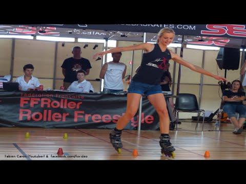 The Best talent in the World 2016 Powerslide Roller Freestyle Slalom Incredible discipline Skates