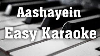 Download lagu Aashayein आशाऐं  Easy hindi Karaoke with Lyrics Iqbal  sanam puri  kk 
