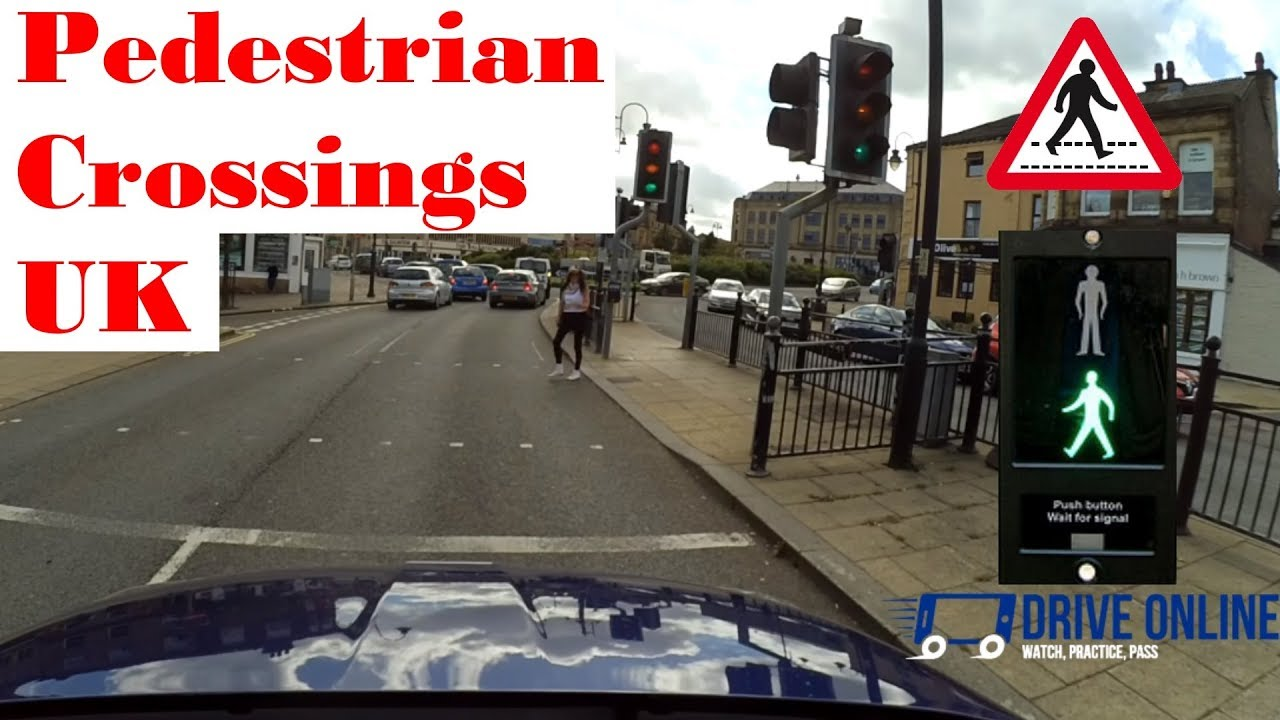 Pedestrian Crossings Driving Lesson Approaching